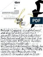 Editor's Letters Typos MASTER© BEHIND IT Magazine | CEO & Publisher, Alejandro Di Esko