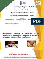 3.6 Normatividad Aplicable Al Producto