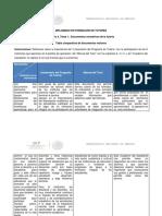 Tabla Comparativa de Los Lineamientos Normaticos de Tutorias Del TECNM
