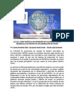 La SAS como vehículo de inversión para proyectos de energía renovable en Colombia