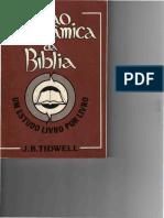 Visao Panoramica Da Biblia - J.B. TIDWELL