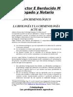 biocriminologia