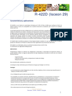 Ficha Tecnica R422D I29