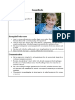 student profile   fba pbs assessment