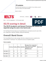 IELTS Scoring Calculate Your Band Score