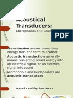 Acoustical Transducers_Lecture 5