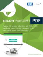 PapercutMF MFD Ricoh