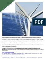La Energía Eólica Es La Forma de Energía Renovable Que