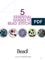 5 Essential Guides to Bead Stitching