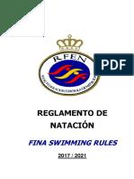 Reglamento Técnico Natación 2017-2021 (1)