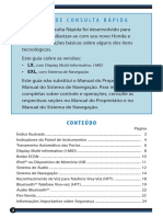 CR-V 2012 - Guia de Consulta Rápida