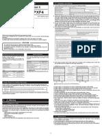 PXF4 Manual