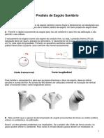 Projeto de Sistemas Prediais de Esgoto Sanitário