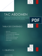 Tac Abdomen