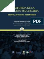Arzola Coord. (2011). Reforma de ESec. Actores, Procesos, Experiencias