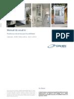 AC08-AC11-AC14 - Manual Do Usuário - Plataformas Até 4 Metros