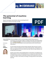 The Potential of Machine Learning - Mining Magazine