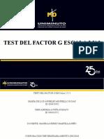 Test Del Factor g Escala 2 y 3.