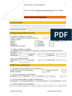 Desbordes 2003 Check List Organización de Eventos