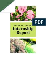 rebekah barzee internship report spring 2019