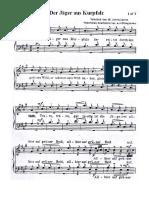 Der Jäger aus Kurpfalz TTBB a capella (German Men's Chorus)