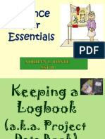 LOG BOOK (SCIENCE INVESTIGATORY PROJECT)