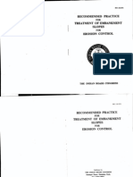 IRC-56 Treatment of Embankemnt Slopes for Erosion