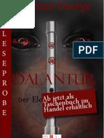 Leseprobe Johannes George - Dalantur