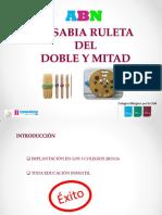 La Sabia Ruleta Del Doble y Mitad