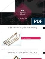 Stainless Straw Catalog 24012019