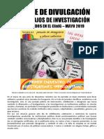 Fanzine de Divulgación de Trabajos de Investigación Producidos en El Cinig