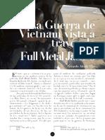 La Guerra de Vietnam Vista a Travc3a9s de Full Metal Jacket