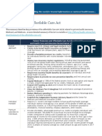 Affordable Care Act Article - 505