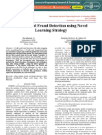 Credit Card Fraud Detection Using Novel Learning Strategy IJERTCONV6IS07004