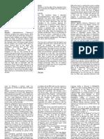 Manongsong vs Estimo FT&D