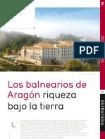 Los Balnearios de Aragón Riqueza Bajo la Tierra Balneario Termas Pallarés