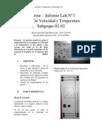 Informe Laboratorio 1 Referencia 1