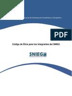 Codigo Etica Del SNIEG