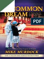 The Uncommon Dream - Mike Murdock.epub