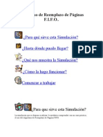 Algoritmo de Reemplazo de Páginas F