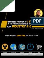 Making Indonesia 4.0 Conference by Guruh Pangestu