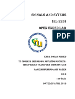 Muhammad Akif Naeem Open Ended Lab Signals and System