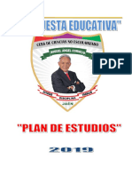 Plan de Estudios Ceba Miguel Ángel Cornejo 2019.