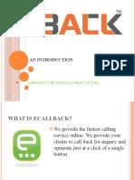 ecallback