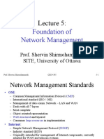 Foundation of network management