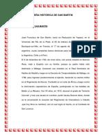 Reseña Histórica de San Martin