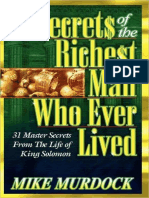 Secrets of the Richest Man Who  - Mike Murdock.epub