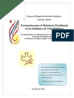 Formación Ministerio Presbiteral