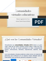 comunidades virtuales educativos