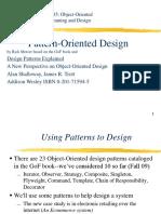 Pattern Oriented Design